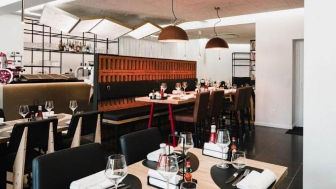 Salle - Be Burger Stockel,