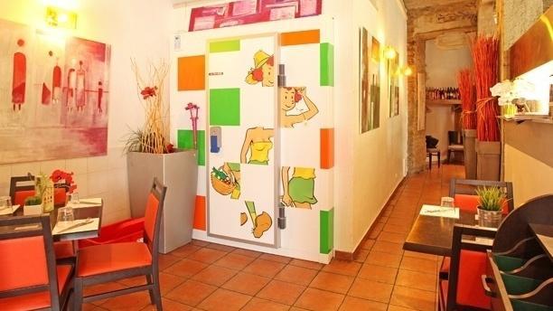 Entrée du restaurant - Le Jardin de Berthe Ainay, Lyon