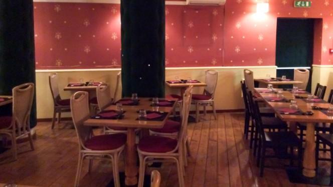 Vista sala - Sushi Zuo, Milan