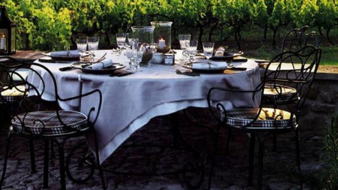 Tavolo all'aperto - Tenuta Torciano Winery,