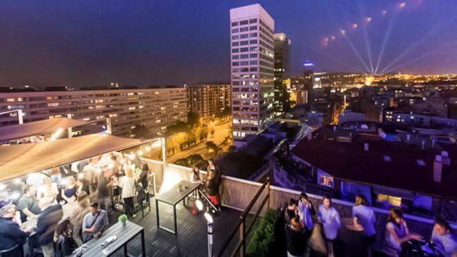 Vista terraza - La terraza BCN Urban Club - Hotel Expo Barcelona, Barcelona