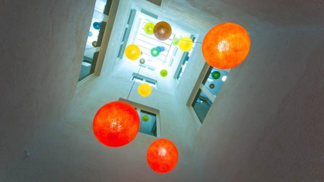 detalle decoración - Gastroblack, Barcelona