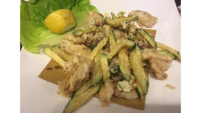 fritto di calamari spillo - Osteria dei Peccatori, Gallarate