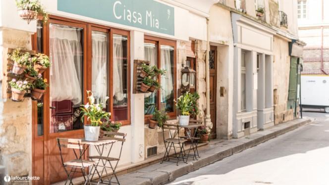 Ristorante Ciasa Mia - Ciasa Mia -  Samuel Mocci, Paris