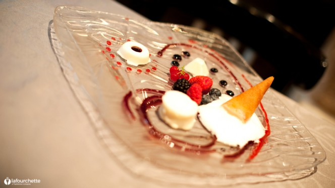 Suggestion de dessert - Ciasa Mia -  Samuel Mocci, Paris