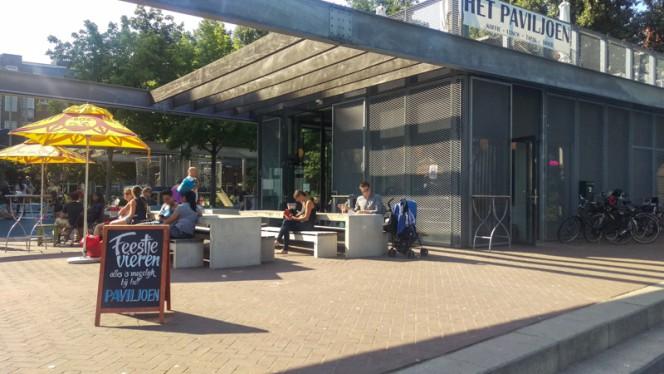 Terras - Het Paviljoen, Amsterdam