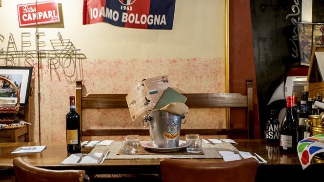 Vista sala - Enoteca del Carro, Bologna