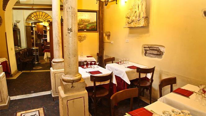La sala interna - Il Giardino Romano, Rome