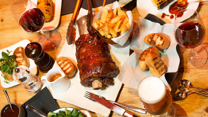 Kentucky long rib menu - Santa Burg - Eixample, Barcelona