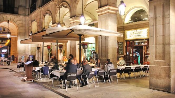 La terraza - Rossini, Barcelona