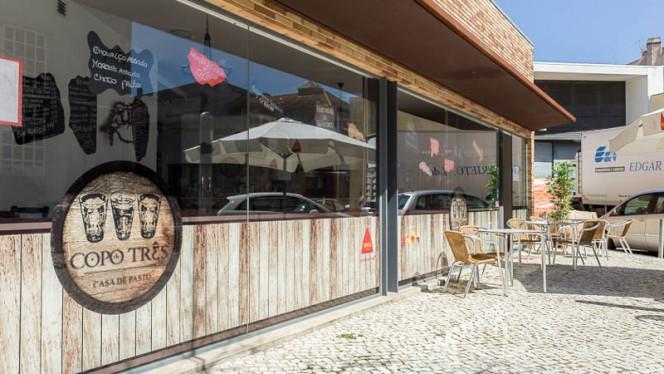 Entrada - Copo de Três, Lisboa