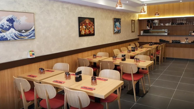 Salle du restaurant - Kintaro, Paris