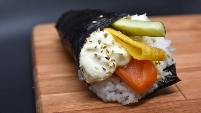 Plato - Hachiko sushi, Barcelona