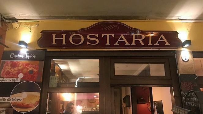 Esterno - Hostaria, Bologna