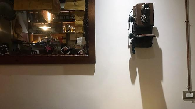 Particolare Sala - Hostaria, Bologna