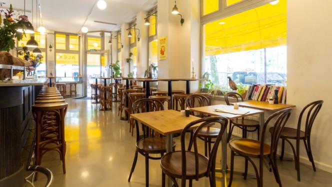 Restaurant - Alex + Pinard, Amsterdam