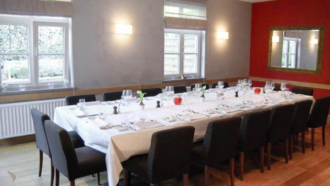 Table dressée - Le Passage,
