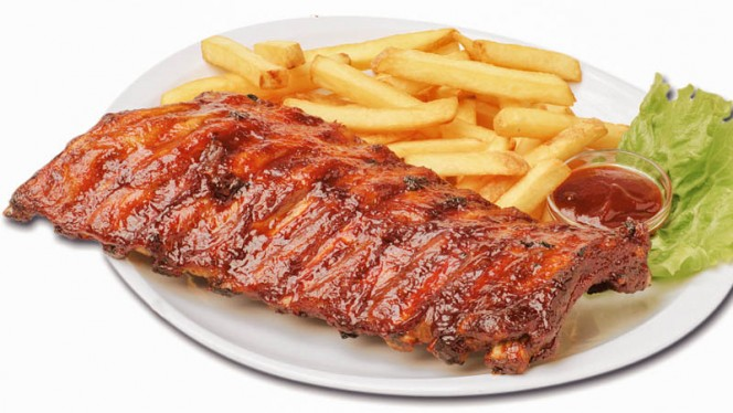 Bbq Ribs - Old Wild West Steak House, Brussels