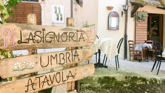 """Ingresso ristorante - Ristorante """"Locanda della Signoria"""", Spoleto"""