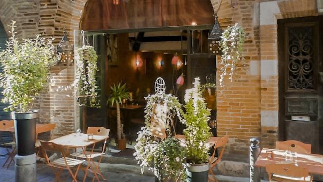 Vue terrasse - La Belle Saison, Toulouse