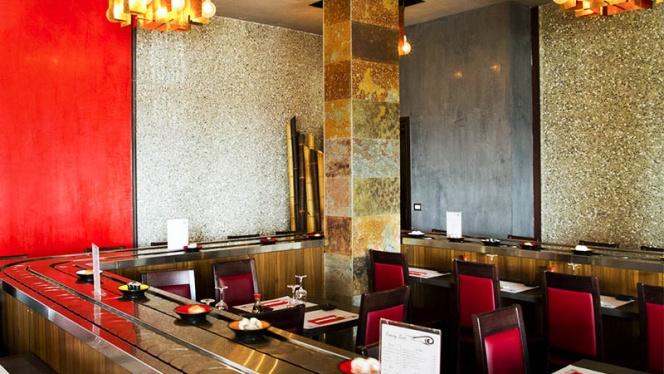 La sala - Sushi Ye, Segrate
