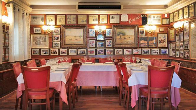 mesa montada para grupo - Salamanca, Barcelona
