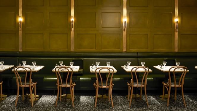 salon vert - Alcazar Restaurant, Paris