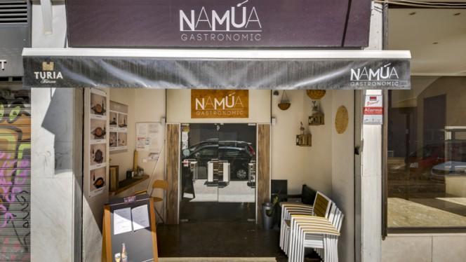 Fachada - Namúa Gastronomic, Valencia