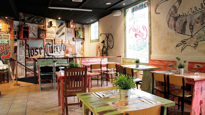 Sala del restaurante - Cantina Canalla - San Martin, Madrid
