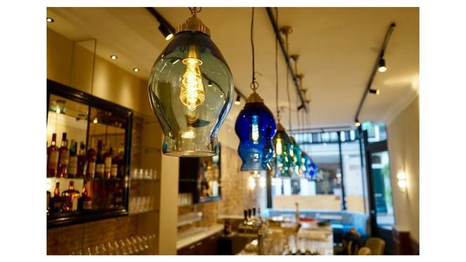 Lampen bar - Le Coeur Bistrothèque, Amsterdam