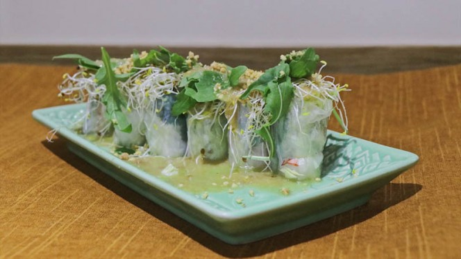 Sugerencia del chef - Aroy Thai, Madrid