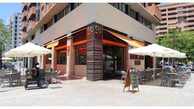 Fachada día - 48 Restaurante Copas, Valencia