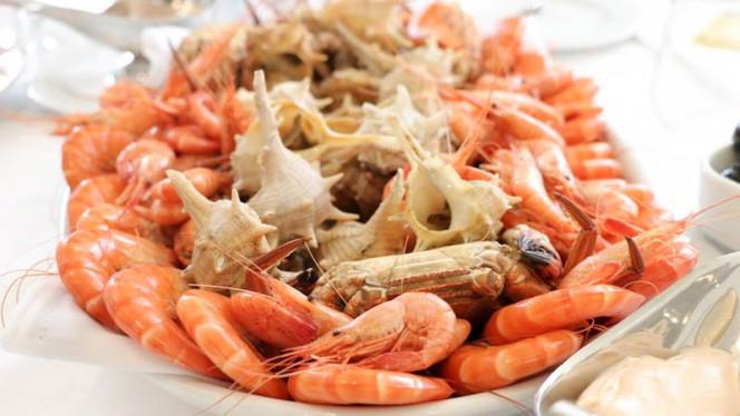 Gambas, camarão da costa, navalheiras e canilhas - O Mar'co, Matosinhos