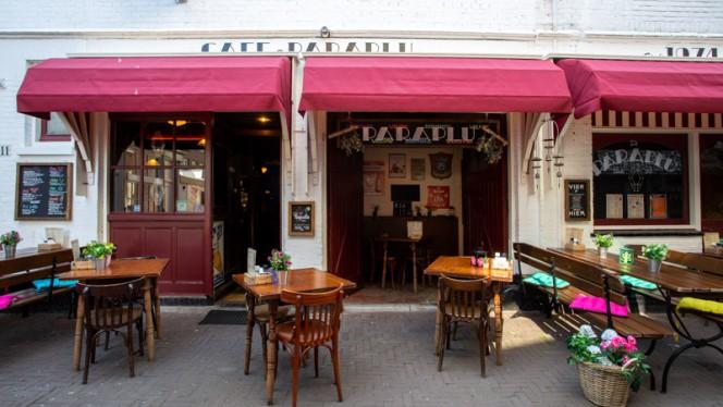 Ingang - De Paraplu - muziek • diner • borrel, Den Haag