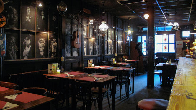 Restaurant - De Paraplu - muziek • diner • borrel, Den Haag