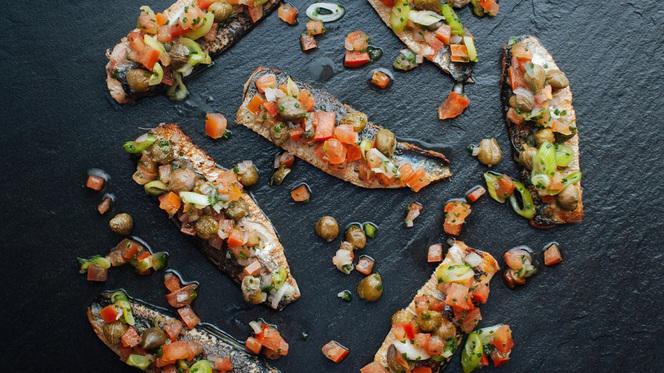Sardines - Restaurant Maceo, Paris