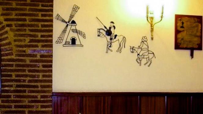 Detalle decoracion - El Rinconcito, Madrid