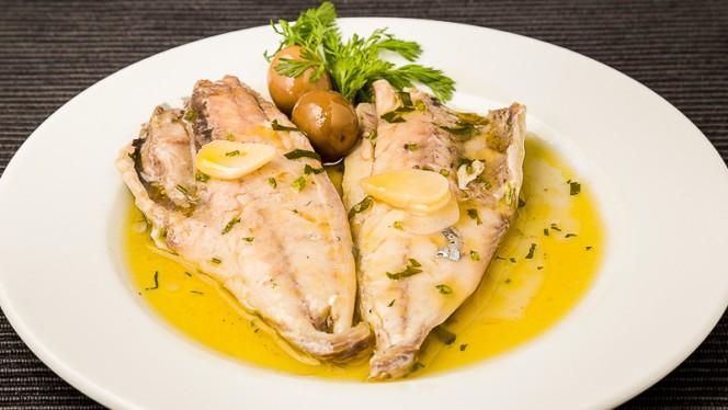 Sugestão do chef - Chaminés do Palácio, Lisboa
