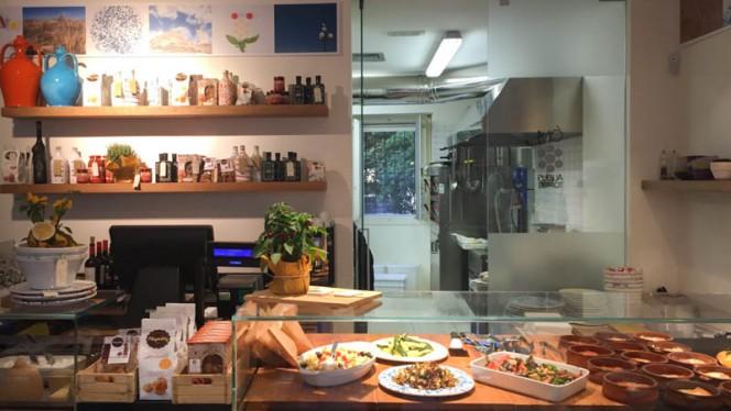 vista cucina - Mò puglia, Milan