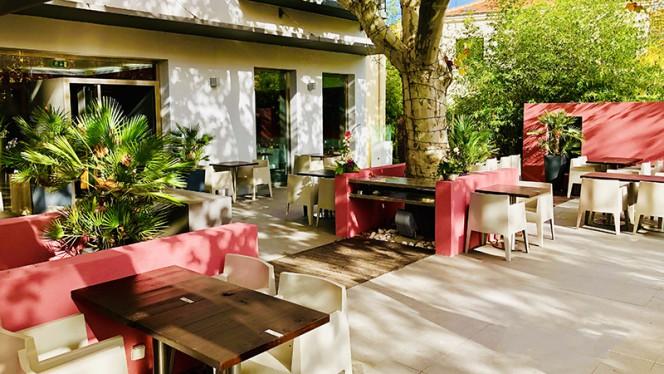 Vue de la terrasse - Les Inséparables, Aix-en-Provence