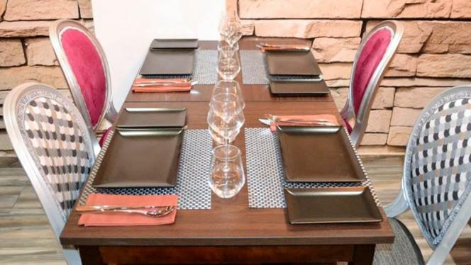Table dressée - Cumin & Cannelle, Nice
