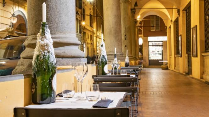 Veduta dell interno - DolceSalato Bistrò, Bologna