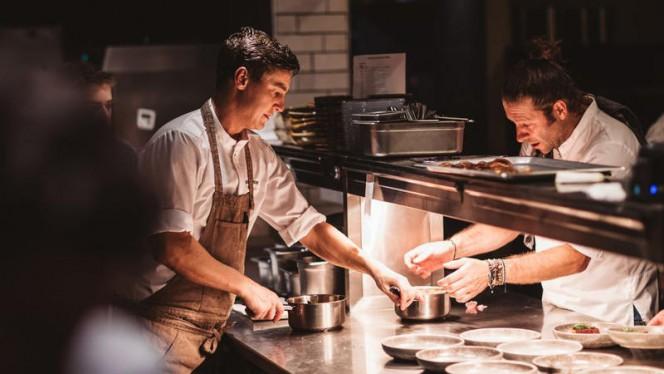 Chef Richard Way & Michiel van der Eerde - Restaurant ZUID, Amsterdam