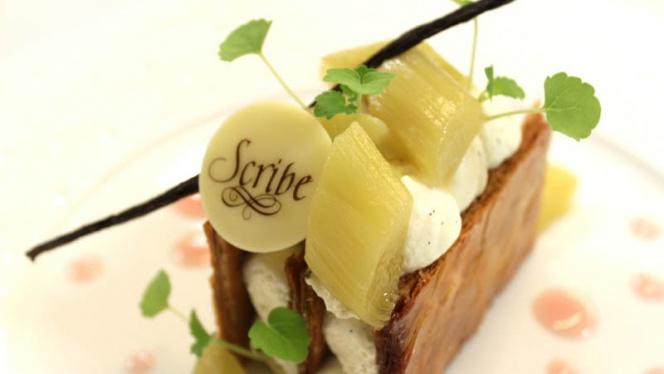 Restaurant Le Lumière - Millefeuille - Le Lumière - Hôtel Le Scribe Paris Opéra, Paris
