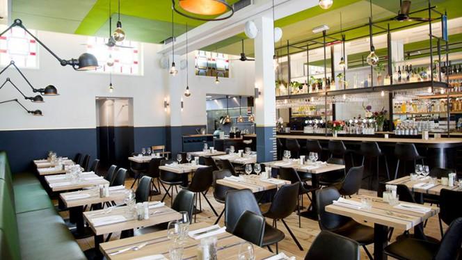 Het restaurant - Restaurant Floreyn, Amsterdam