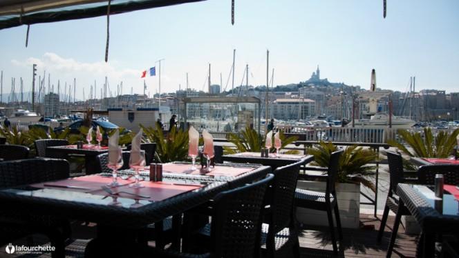 Tables dressées - La Suite, Marseille