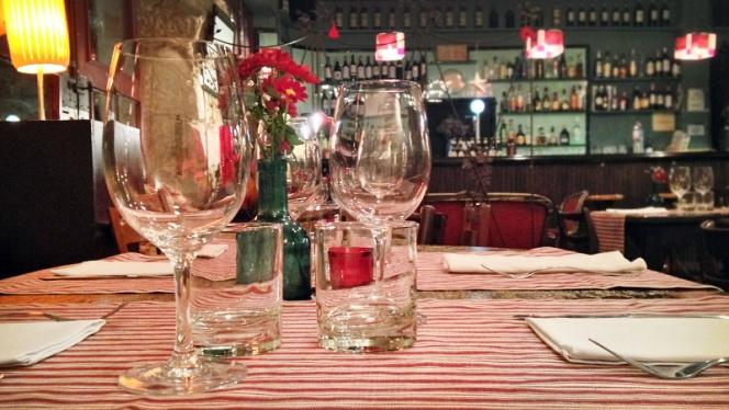 detalle copas - El Salón, Barcelona