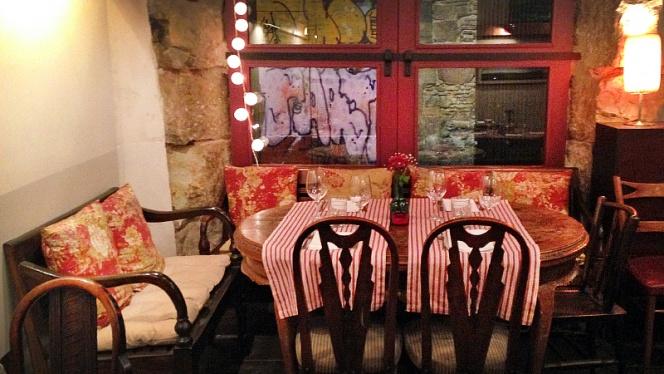 vista mesa - El Salón, Barcelona