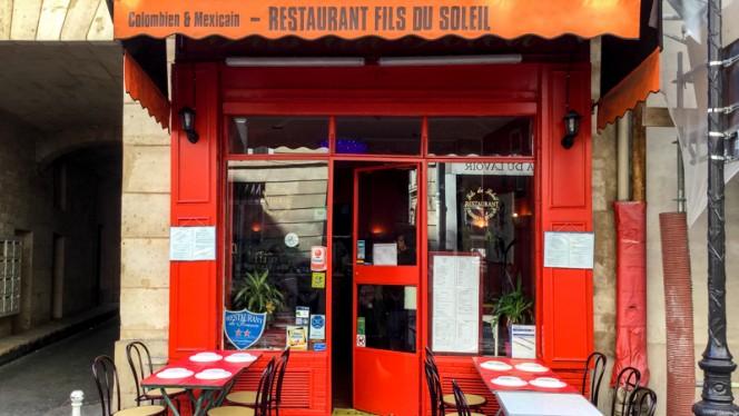 devanture - Fils du Soleil, Paris