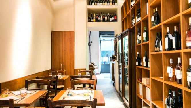 La sala - Dal Vinattiere, Milano